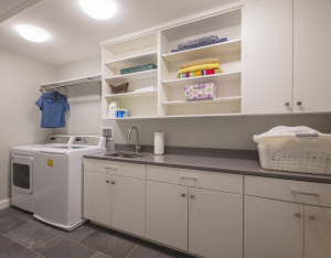 northern va laundry room electrical remodeling